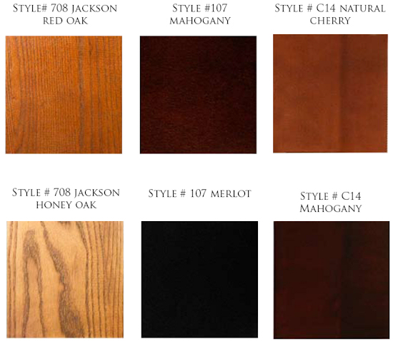 . Comfort Design   Wood Finishes